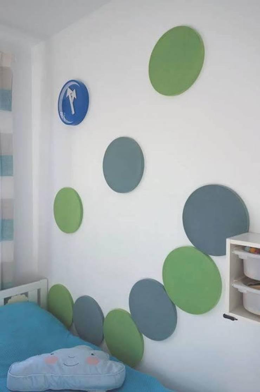 DOTS w projekcie Red Design, inspirujące...: styl , w kategorii Pokój dziecięcy zaprojektowany przez FLUFFO fabryka miękkich ścian,Nowoczesny
