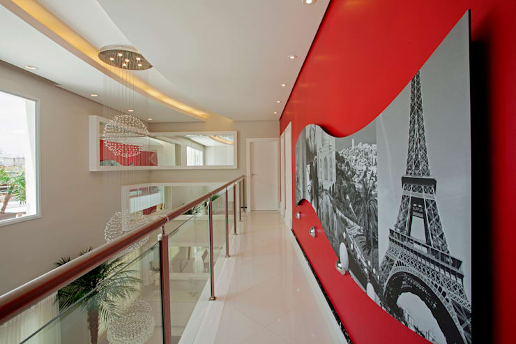 الممر والمدخل تنفيذ Designer de Interiores e Paisagista Iara Kílaris
