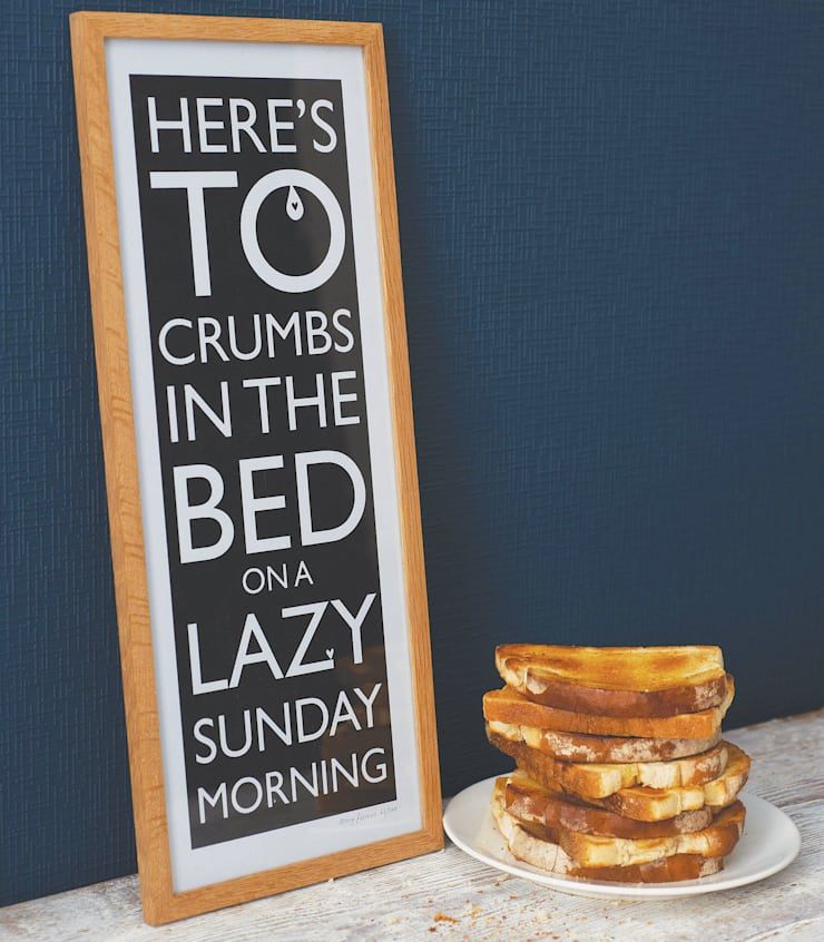 Crumbs in the Bed:  Artwork by Mary Fellows