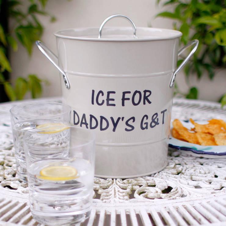 Personalised Ice Bucket:  Garden  by Jonny's Sister