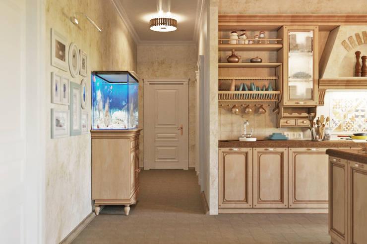 Традиционный интерьер для кухни столовой: Кухни в . Автор – Студия дизайна Interior Design IDEAS,
