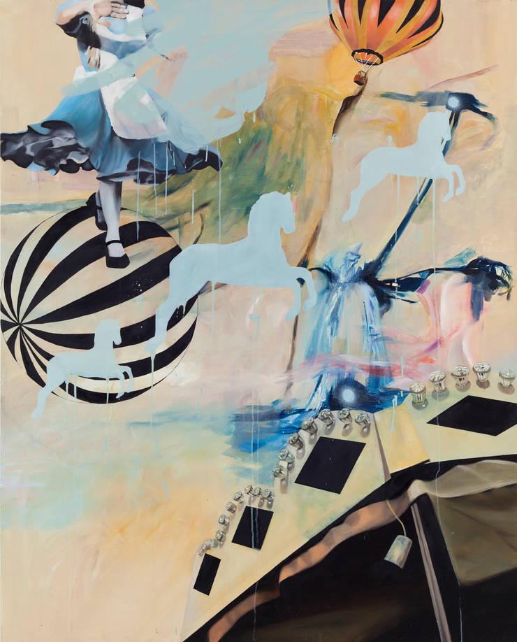 10h 30m , Oil on canvas , 162.2 x 130.3cm , 2012: Woojung Son의 현대 ,모던