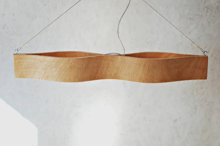 lamp Eyes: styl , w kategorii Jadalnia zaprojektowany przez żyrRafo