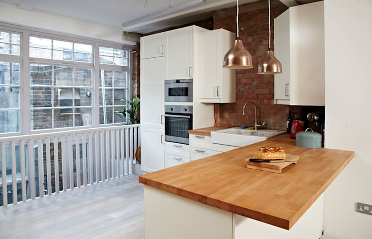 Brilliant Bethnal Green: industrial Kitchen by Propia