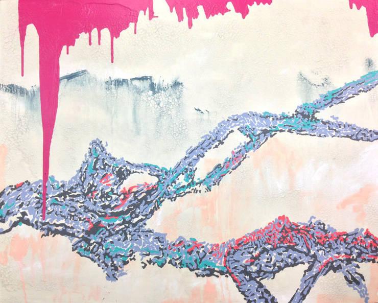 San33-101,acrylic-on-canvas, 162.2x130.0cm, 2015: Kim Na Hyun 김나현의