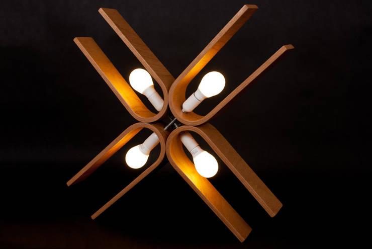 lamp NatUral_1: styl , w kategorii Jadalnia zaprojektowany przez żyrRafo