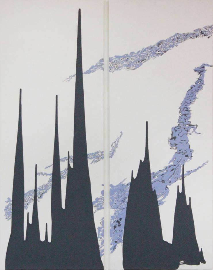 San33 vol1, acrylic on canvas, 145.5x178.8cm, 2015: Kim Na Hyun 김나현의