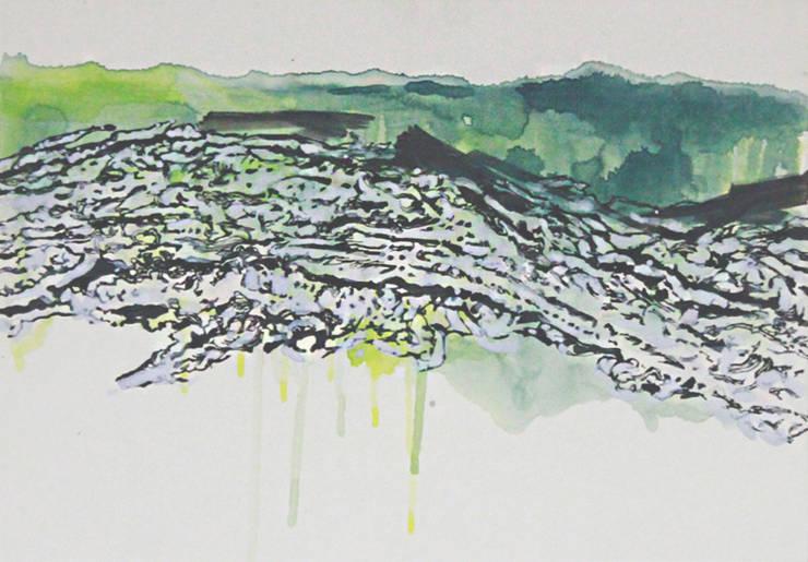 San33-2, acrylic on canvas, 72.7 x 50cm, 2015: Kim Na Hyun 김나현의