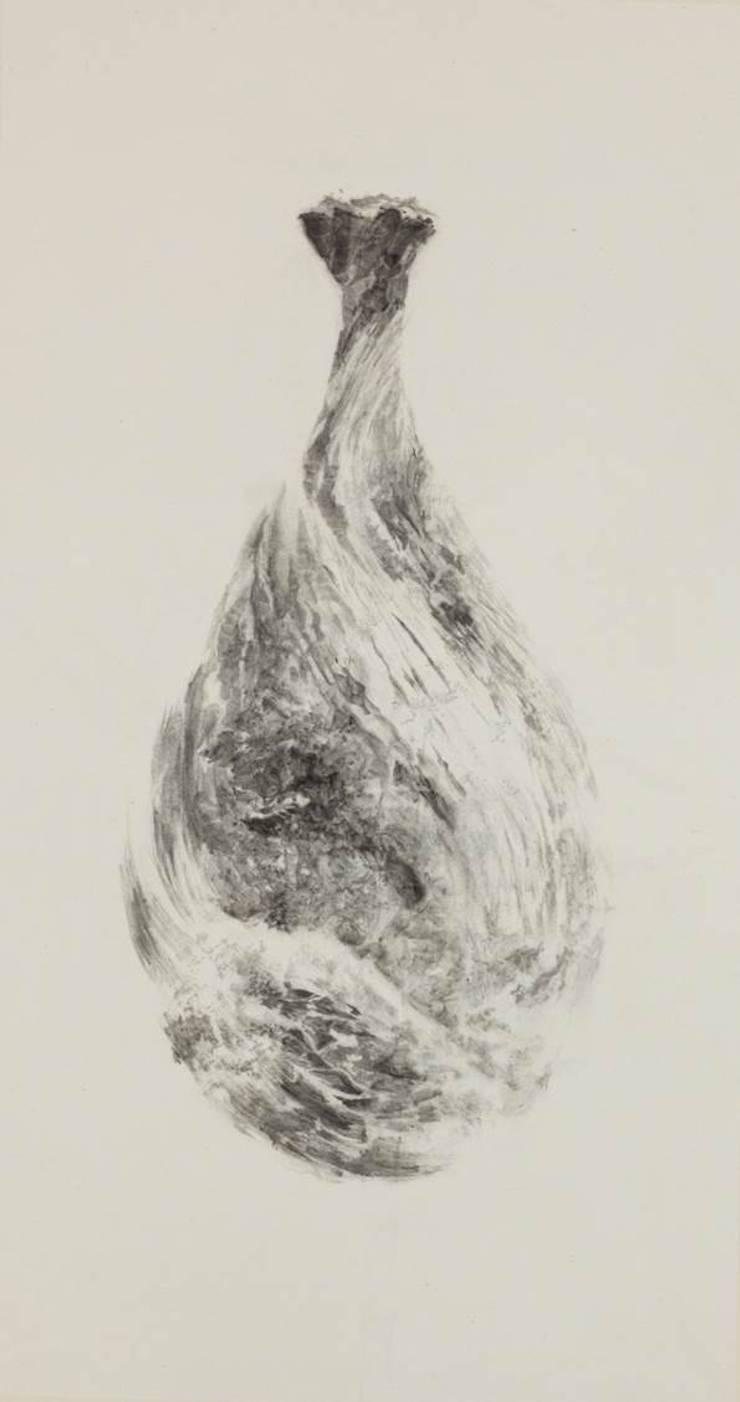 허공의 물소리,116x62cm,화선지에 수묵,2012: 흔적찾기 프로젝트의