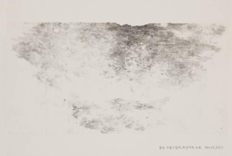 물속 구름 그림자, 96x73cm, : 흔적찾기 프로젝트의