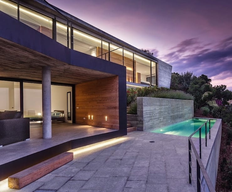 Howa en la noche.: Casas de estilo  de VelezCarrascoArquitecto VCArq