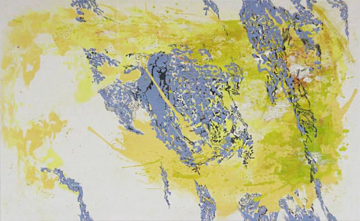 San33 Vol2, acrylic on canvas, 145.5x89.4cm, 2015: Kim Na Hyun 김나현의