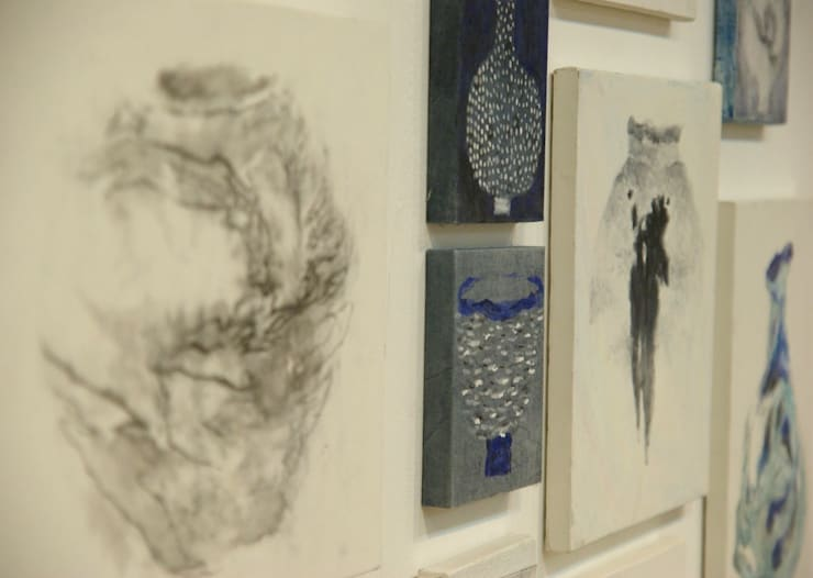 private exhibition at  gallery nut-2014: 흔적찾기 프로젝트의