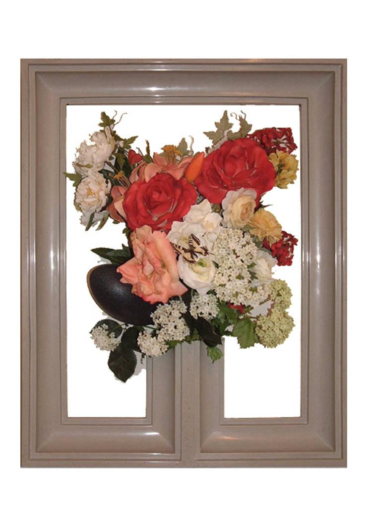 Flowerframe 1:  Binnenbeplanting door Aldo van den Nieuwelaar