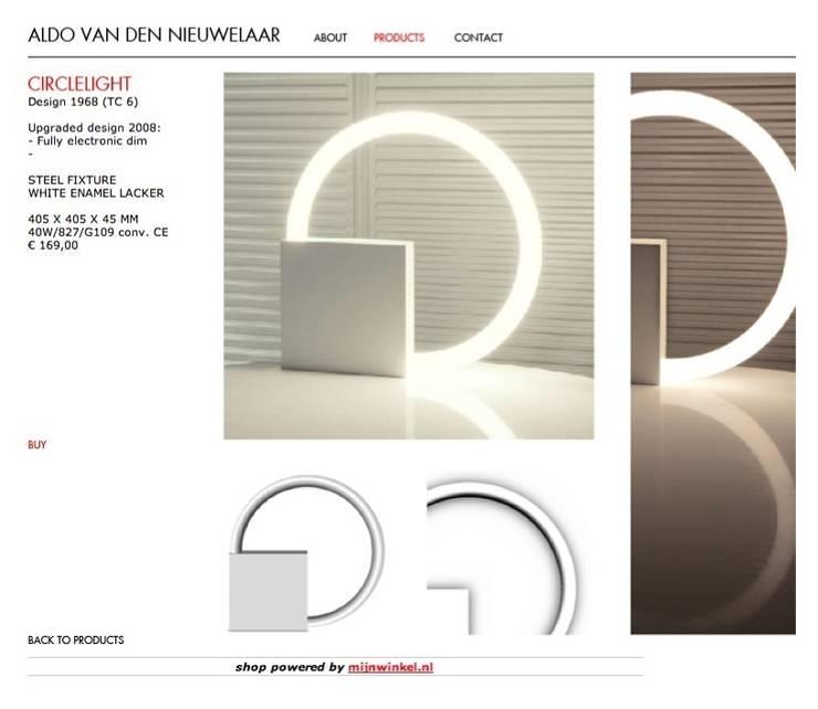Cicrcle light TC6:  Kunst  door Aldo van den Nieuwelaar