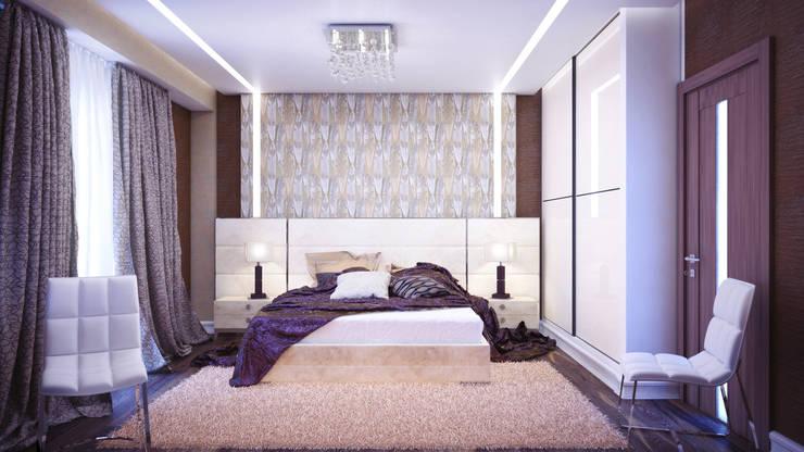 Спальня в современном стиле: Спальни в . Автор – Студия дизайна Interior Design IDEAS