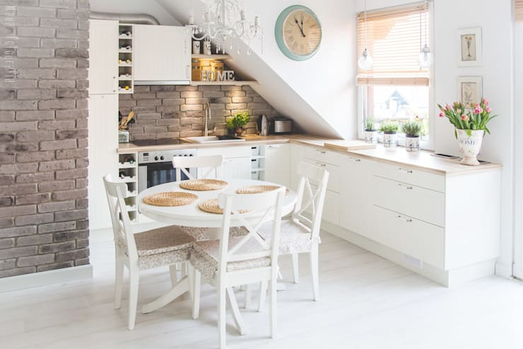Cocinas de estilo  por Meblościanka Studio