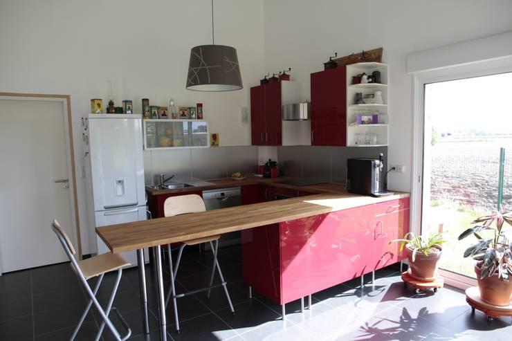 cuisine:  de style  par Amélie Tremblay-Choteau Architecte d'intérieur