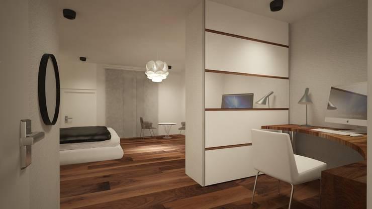 Estudio en Casa: Estudios y despachos de estilo minimalista de Eva Sáve
