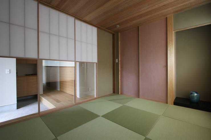 和気町の家: 福田康紀建築計画が手掛けた和室です。