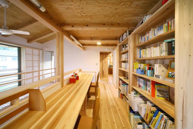 ワークスペース: 芦田成人建築設計事務所が手掛けた書斎です。,オリジナル