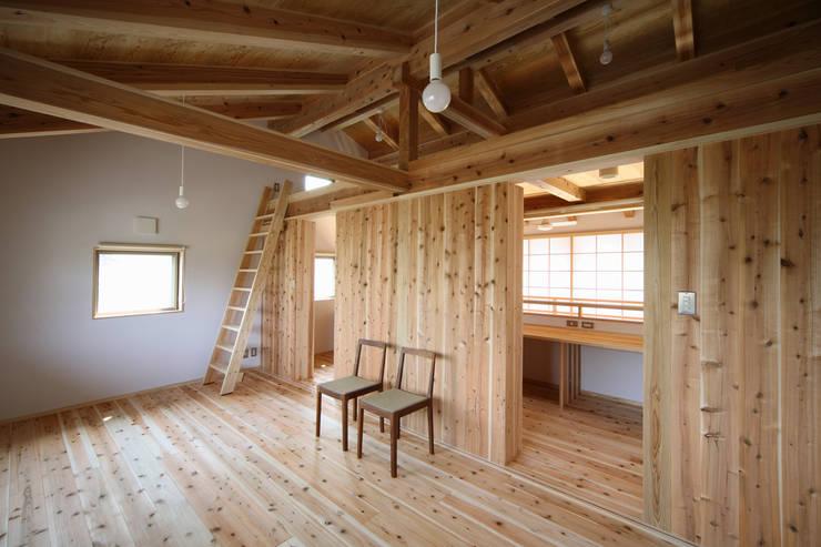 子供部屋: 芦田成人建築設計事務所が手掛けた子供部屋です。,オリジナル