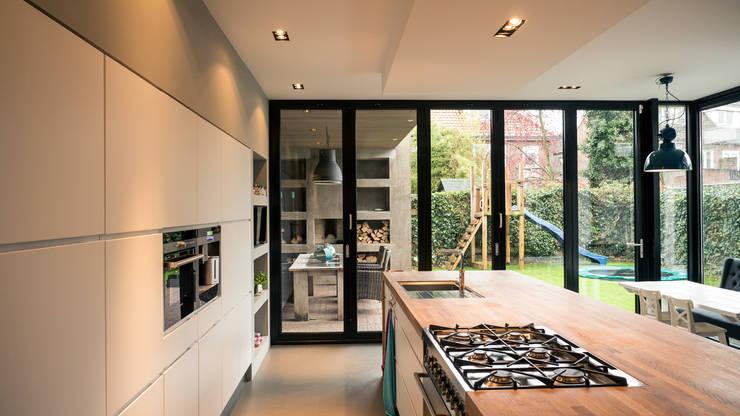 Projekty,  Okna i drzwi zaprojektowane przez Joep van Os Architectenbureau