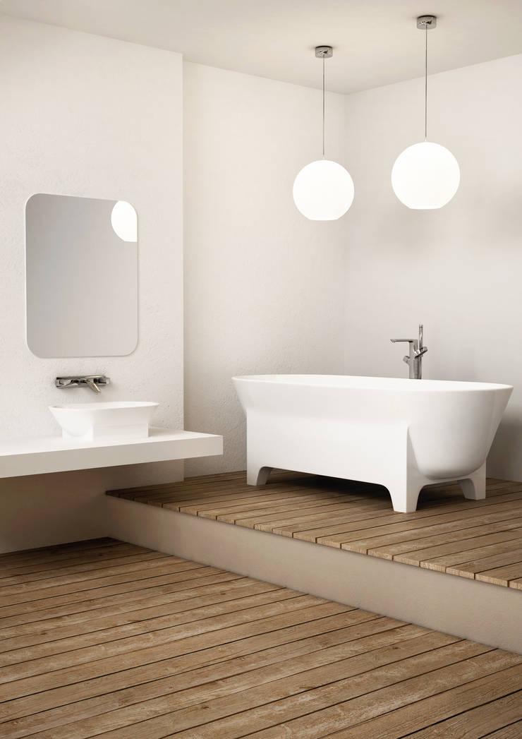 LIVA: styl , w kategorii Łazienka zaprojektowany przez MOWO STUDIO