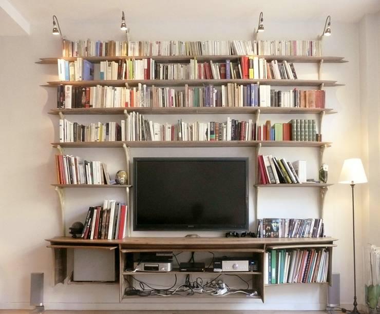 Sala multimedia de estilo  de Jean Zündel meubles rares