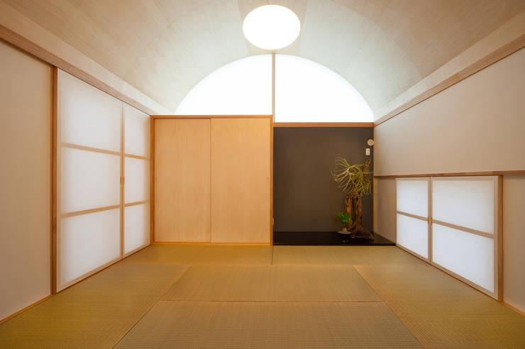 長閑の家: プラソ建築設計事務所が手掛けたリビングです。