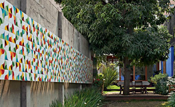 Ana Sawaia Arquitetura:  tarz Bahçe