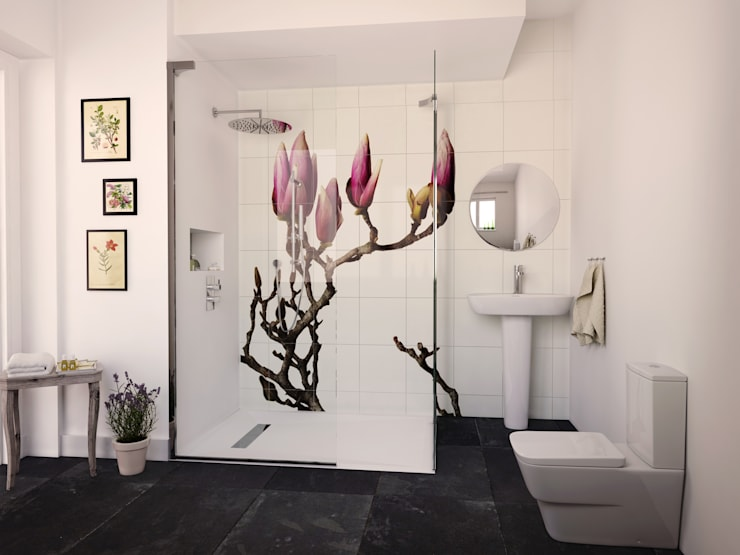 Baños de estilo  por Bathrooms.com
