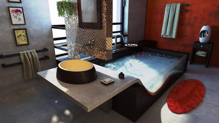Bagno zen: Bagno in stile  di belliniderocco
