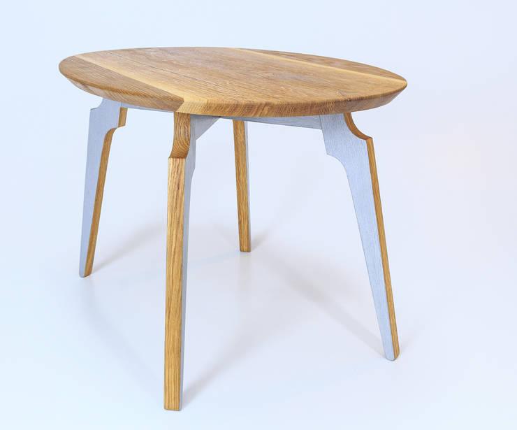 """Stolik kawowy """"M60"""": styl , w kategorii Salon zaprojektowany przez Meble Autorskie Jurkowski,"""