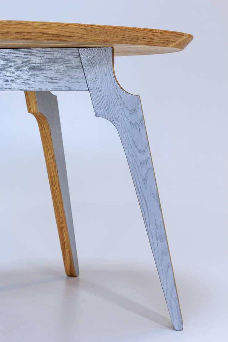 """Stolik kawowy """"M60"""": styl , w kategorii Jadalnia zaprojektowany przez Meble Autorskie Jurkowski,"""