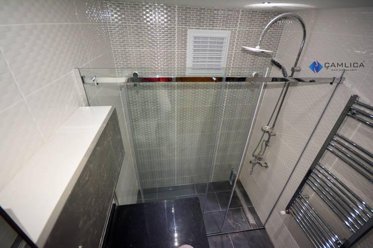 Creative Duşakabin – paslanmaz duşakabin modülü:  tarz Banyo