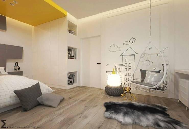 Fluffo Cube w projekcie Pracowni Architektury Wnętrz ELEMENTY: styl , w kategorii Pokój dziecięcy zaprojektowany przez FLUFFO fabryka miękkich ścian