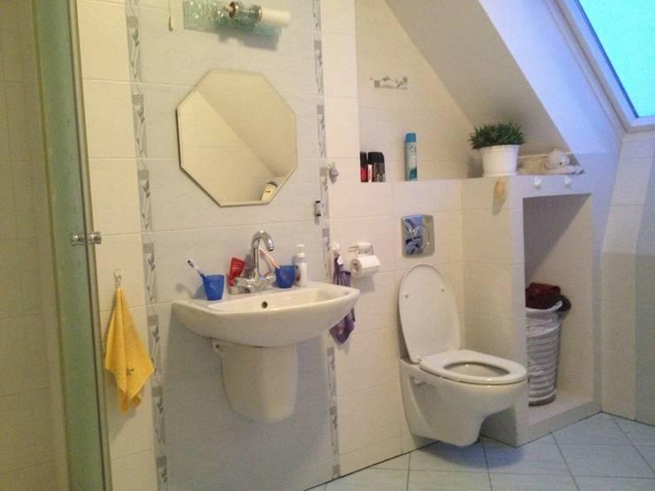 Łazienka przed zmianą: styl , w kategorii  zaprojektowany przez Home Staging Studio AP