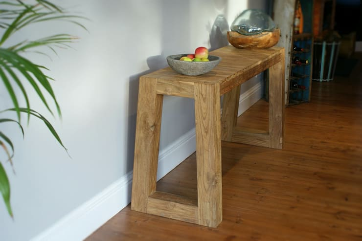 Bella Teak Console:  Dining room by BluBambu Living