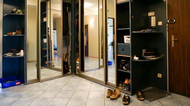 Przedpokój przed zmianą: styl , w kategorii  zaprojektowany przez Home Staging Studio AP