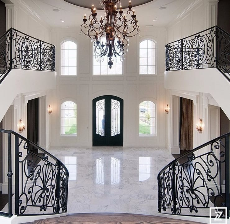 Corridor, hallway & stairs  by Maison Noblesse