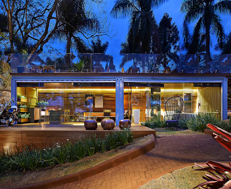 Projekty,  Domy zaprojektowane przez Cristina Menezes Arquitetura