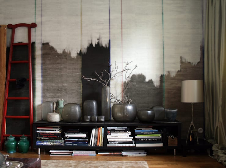 asian Living room by CONSCIOUS DESIGN - INTERIORS