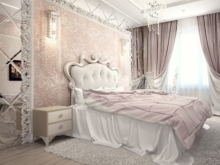 Blanc Versailles: Спальни в . Автор – VITTA-GROUP