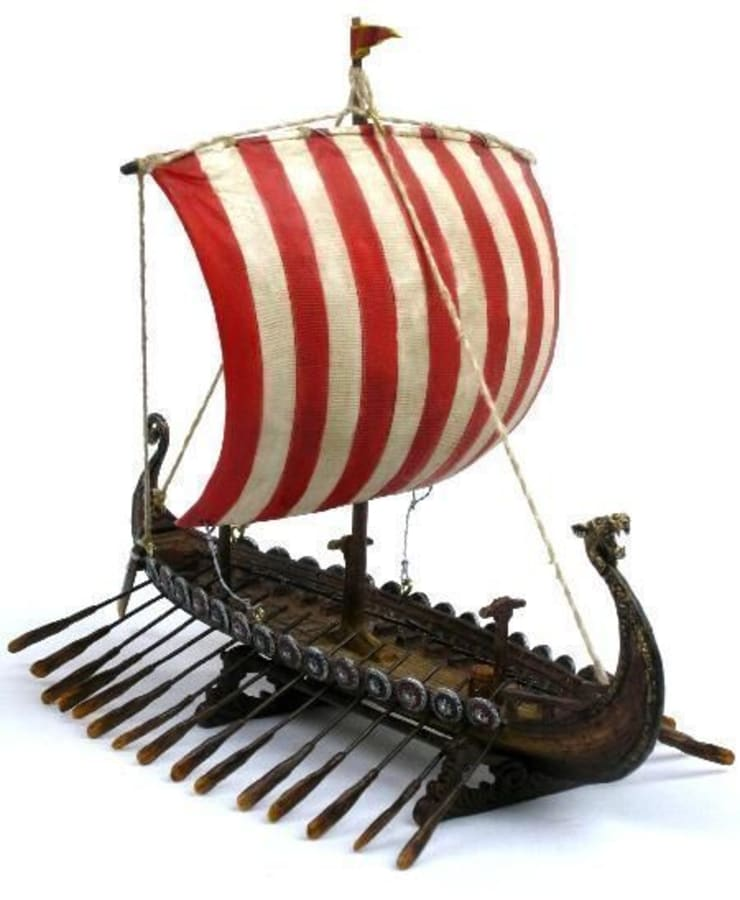 Artist Hediyelik – Viking Gemisi:  tarz Çalışma Odası