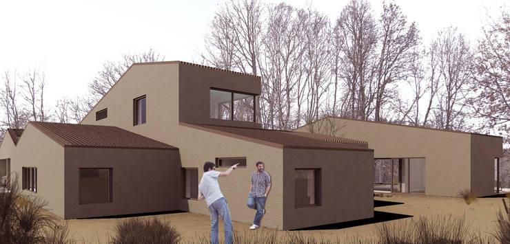 Casapanal: Casas de estilo  de soma [arquitectura imasd]