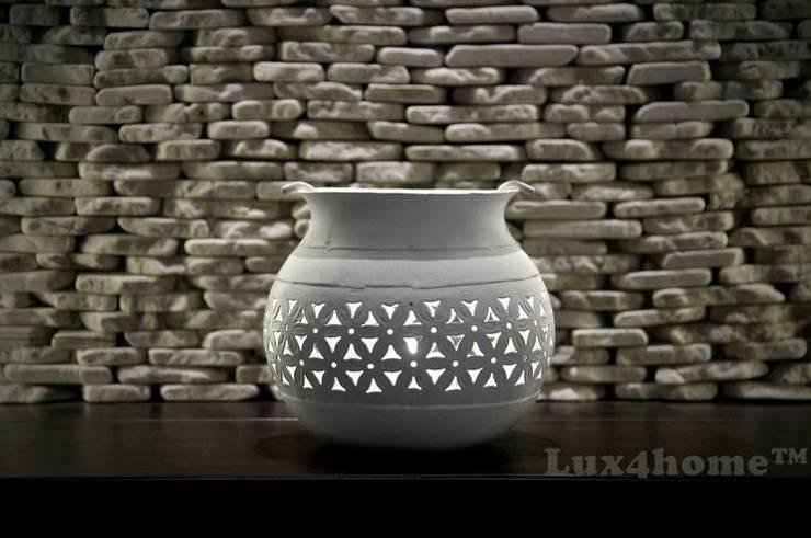 Ściany z kamienia 3D - bez fugowania: styl , w kategorii Łazienka zaprojektowany przez Lux4home™