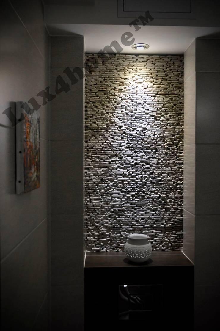 Dekoracyjny kamień ścienny od Lux4home™ Łupek z kamienia na ścianę: styl , w kategorii Ściany i podłogi zaprojektowany przez Lux4home™