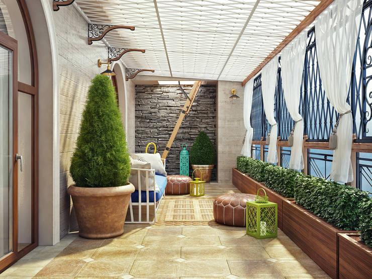 Terrazas de estilo  por Sweet Home Design