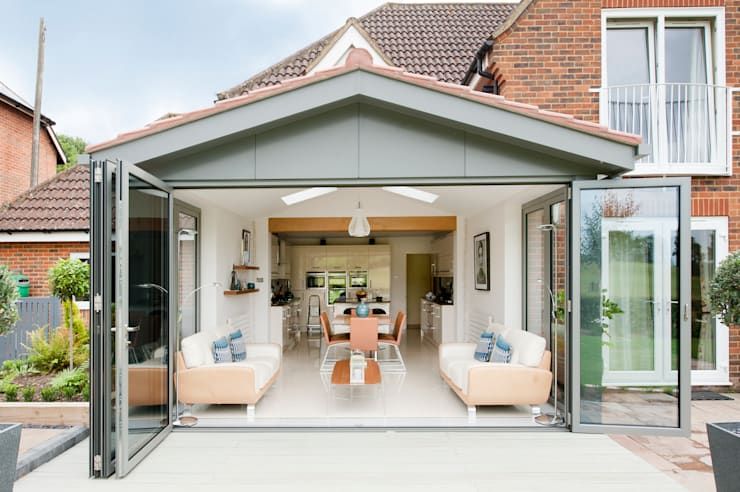 Modern Kitchen Lounge Extension Conservatory By ROCOCO